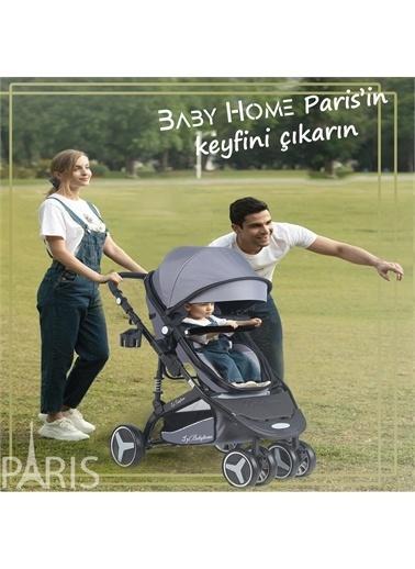 Baby Home Baby Home 945 Paris Travel Sistem Bebek Arabası Anne Yanı Sepet Beşik Gri